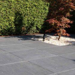Terrasse mit Keramikplatten